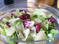 Салат с гребешками и заправкой из манго ингредиенты