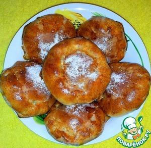 Рецепт Постные пирожки с капустой
