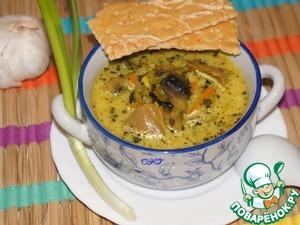 Рецепт Суп из индейки с карри
