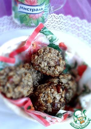 Рецепт Печенье овсяное с финиками