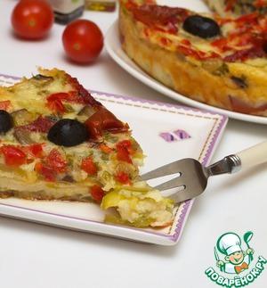Рецепт Сырно-овощная запеканка