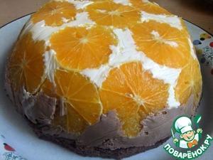 """Рецепт Торт """" Апельсиновый купол"""""""