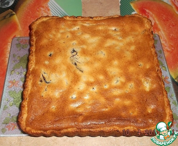 Пирог творожник рецепты пошагово