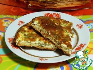 Рецепт Заливной пирог с зеленью
