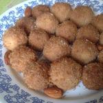 Кокосовое печенье с миндалем