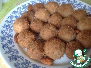 Рецепт Кокосовое печенье с миндалем