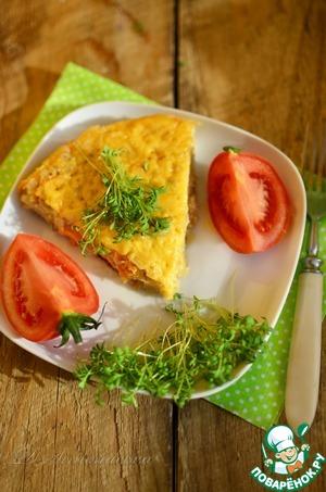 Рецепт Запеканка с капустой, перловкой и грибами