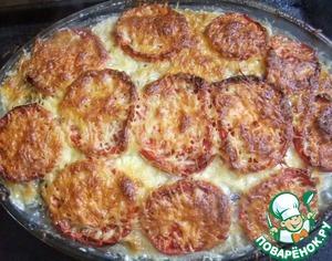 Рецепт Мясная запеканка с баклажанами
