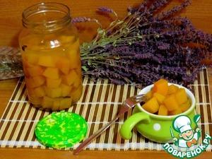 Рецепт Тыква маринованная в яблочном соке