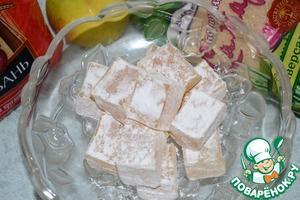 Рецепт Рисовый рахат-лукум