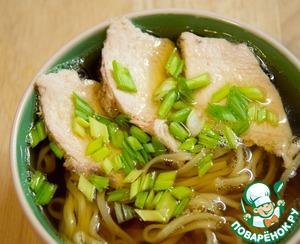 Рецепт Суп-лапша с японским вкусом