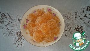 Рецепт Желейные конфеты из облепихи на агар-агаре