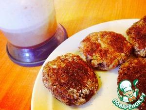 Рецепт Диетическое овсяное печенье из мюсли с отрубями