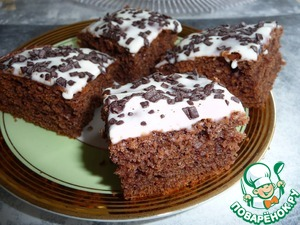 Рецепт Кукурузно-шоколадные пирожные