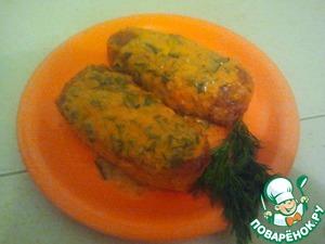 Рецепт Гречнево-куриные котлетки с начинкой