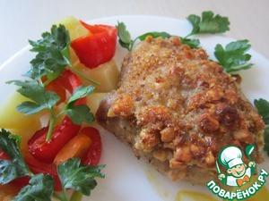Рецепт Курочка в орехово-сливочной панировке