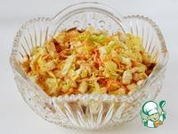 Салат из пекинской капусты с сухариками ингредиенты