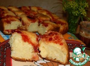 Рецепт Пирог со сливочно-творожным сыром