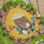 Салат с крабовыми