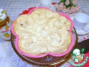 Рецепт Воздушный пирог из ягод с конфитюром