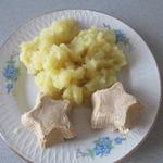 Суфле из телятины в мультиварке