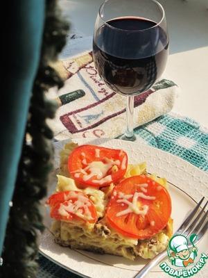 Рецепт Запеканка с макаронами и фаршем