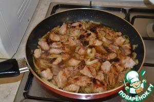 Рецепт Мясо жареное с луком