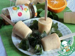 Рецепт Апельсиново-абрикосовое мороженое