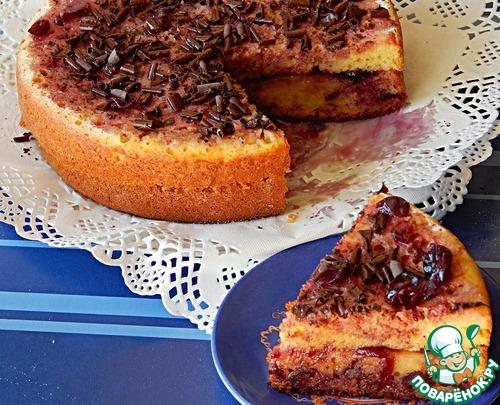 Кекс творожно-кукурузный в мультиварке – кулинарный рецепт
