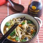 Супербульон и простой гречневый суп на нем