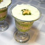 Смузи из киви и банана с ванильным мороженым