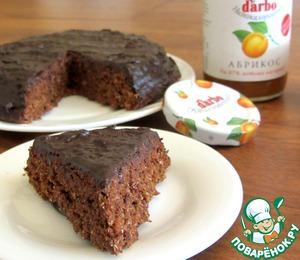 Рецепт Великолепный шоколадный пирог из отрубей