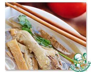 Куриный суп Миен га домашний пошаговый рецепт приготовления с фото