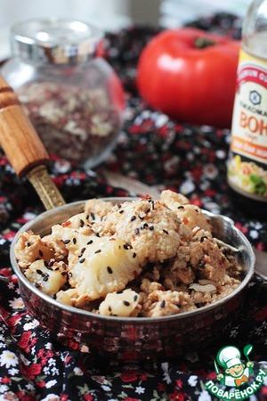 Рецепт Цветная капуста в белковой панировке