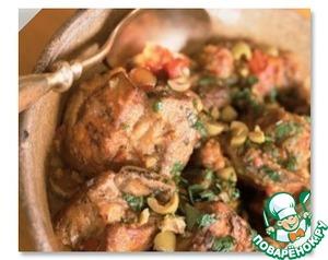 Рецепт Курица по-китайски с овощами в кисло-сладком соусе