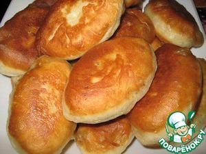 Рецепт Пирожки жаренные (на скорую руку)