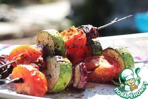 Рецепт Овощной шашлык