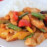 Курица в кисло-сладком соусе по-тайски