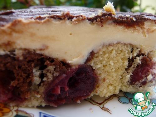 Торт Дунайские волны-Donauwelle