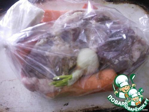 Бочок с овощами – кулинарный рецепт