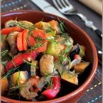 Быстрый гарнир из овощей на все случаи