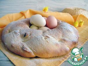 Рецепт Болгарский козунак