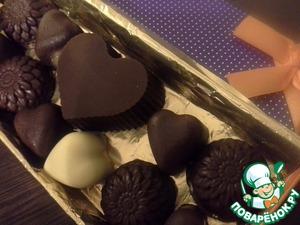 Рецепт Шоколадные конфеты ассорти