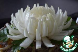 Рецепт Хризантема из лука