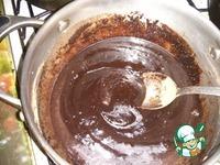 Шоколадная колбаска, очень шоколадная ингредиенты
