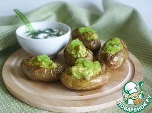 Рецепт Нарядный запеченный картофель