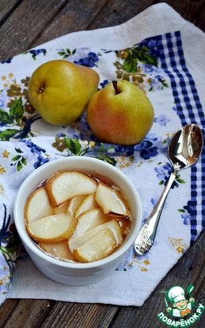 Рецепт Десерт из овсянки с грушами