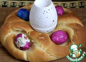 Рецепт Австрийский пасхальный хлеб