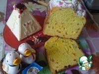 Пасхальный кулич заварной в хлебопечке ингредиенты