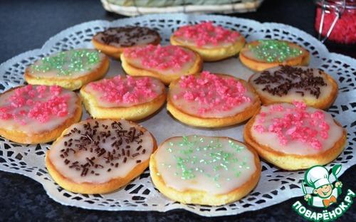 """Бисквитное печенье """"Американцы"""""""